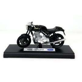 PB MODEL MOTOR RETRO  ČRN 12X4,5 CM
